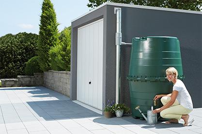 Декоративная емкость для сада и участка TOP-1300