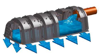Дренажный тоннель Graf 130 л арт. 410200