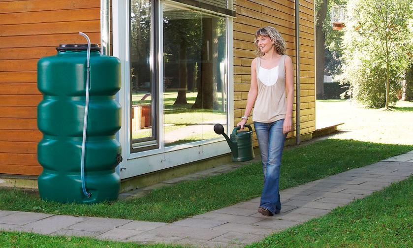 Декоративная емкость для сада и участка Вагонка