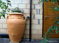 «Античная Амфора»  для сбора дождевой воды