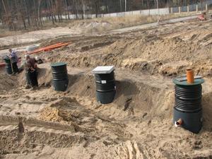 Станция очистки с незакрепленным материалом-носителем на 50 проживающих от компании GRAF