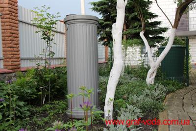 Сбор дождевой воды. Примеры использования в Украине