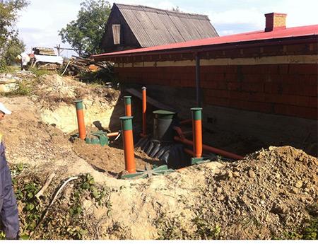 Сбор дождевой воды. Реализованный проект.