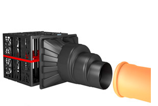 Переходник для трубопроводов Дн 300, 400, 500 мм