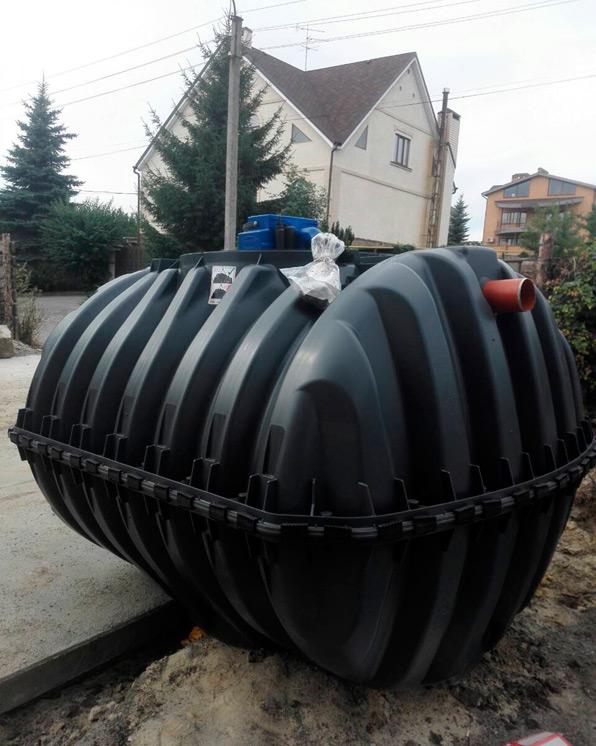 Монтажні роботи системи очищення стічних вод