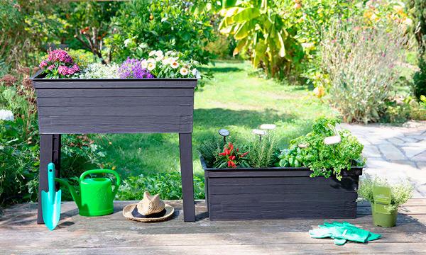 Садовый или балконный вазон Urban