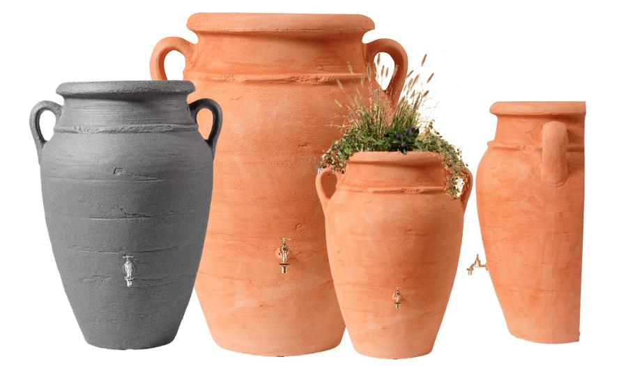 Декоративна ємність для саду Антична Амфора