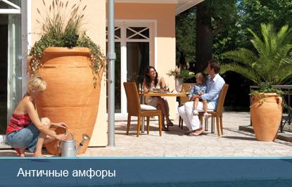 садовая емкость Греческая амфора