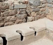 общественный туалет в Древнем Риме