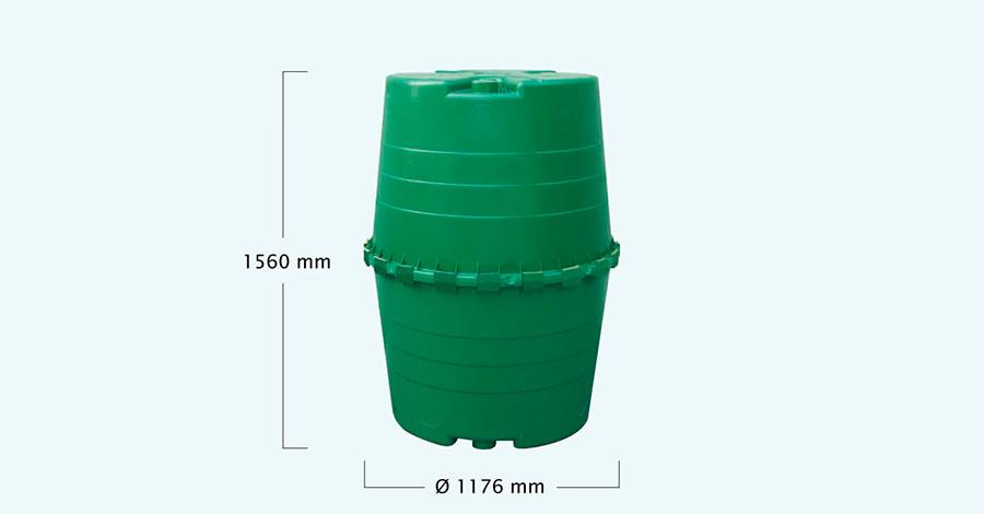 Емкость наружная для сбора дождевой воды TOP