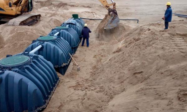 Реалізація проекту з очистки стічних вод в Туркменістані