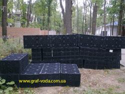 Использование модулей GRAF при отводе ливневых вод
