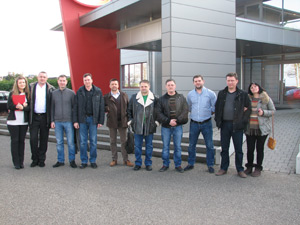Делегация из Украины посетила компанию GRAF