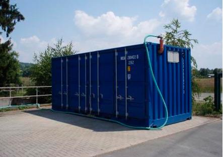 KLARO - очисна станція контейнерного  типу