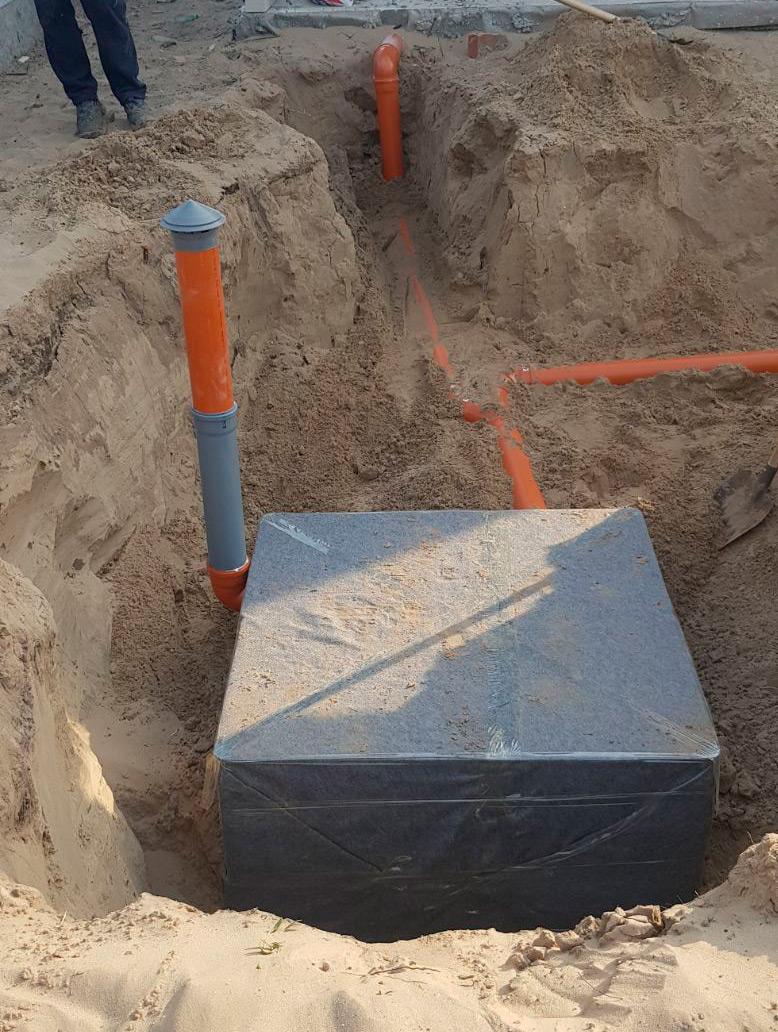 Правильно спроектована і виконана зливова каналізація на ділянці – запорука